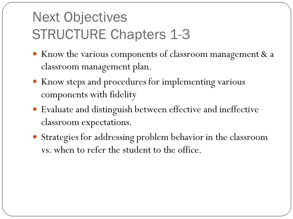 components of classroom management pdf