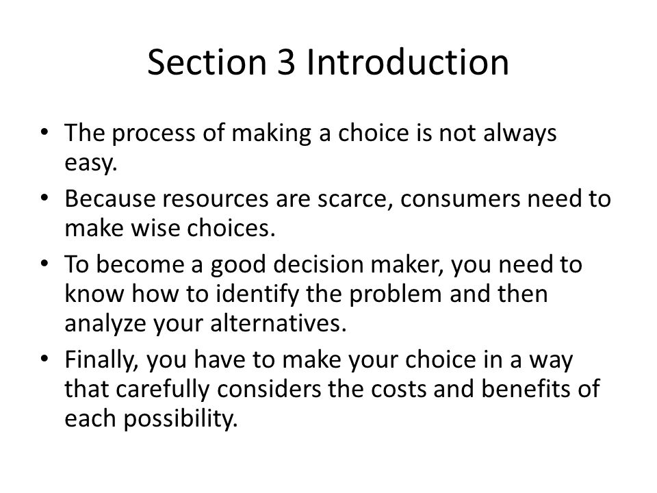 an introduction to the economic choices and economic costs The basic economic problem is about scarcity and choice  have these choices  been affected by the introduction of university tuition fees.