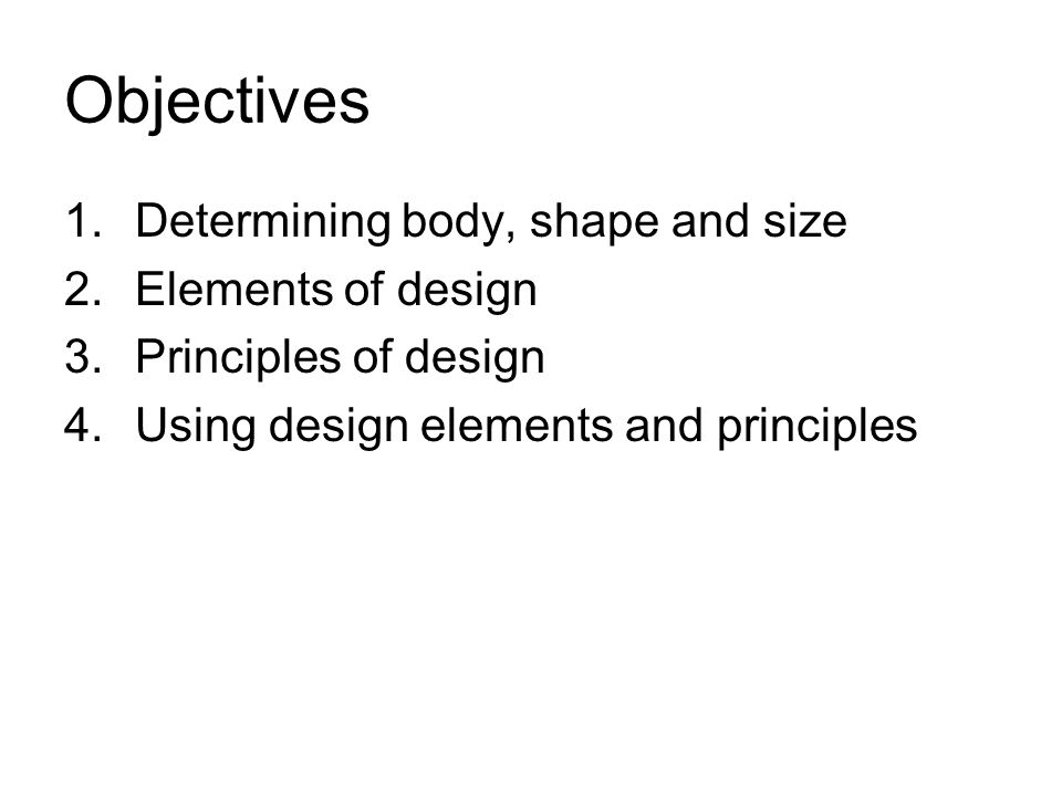 Elements And Principles Of Design Shape : The elements of design fashion s building blocks ppt