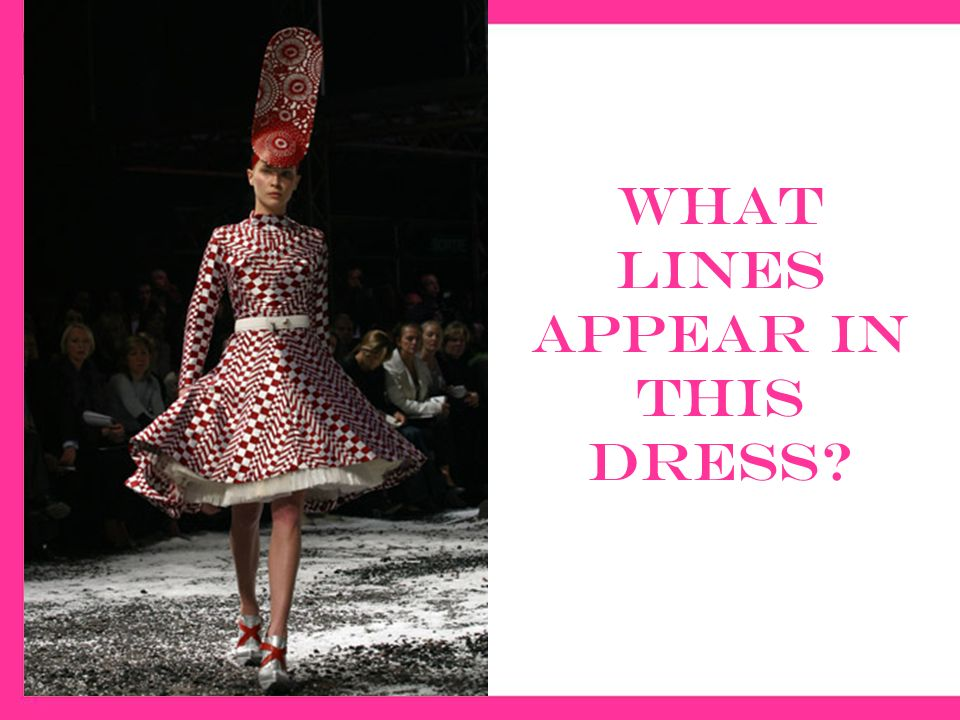 Dress style a line that divides