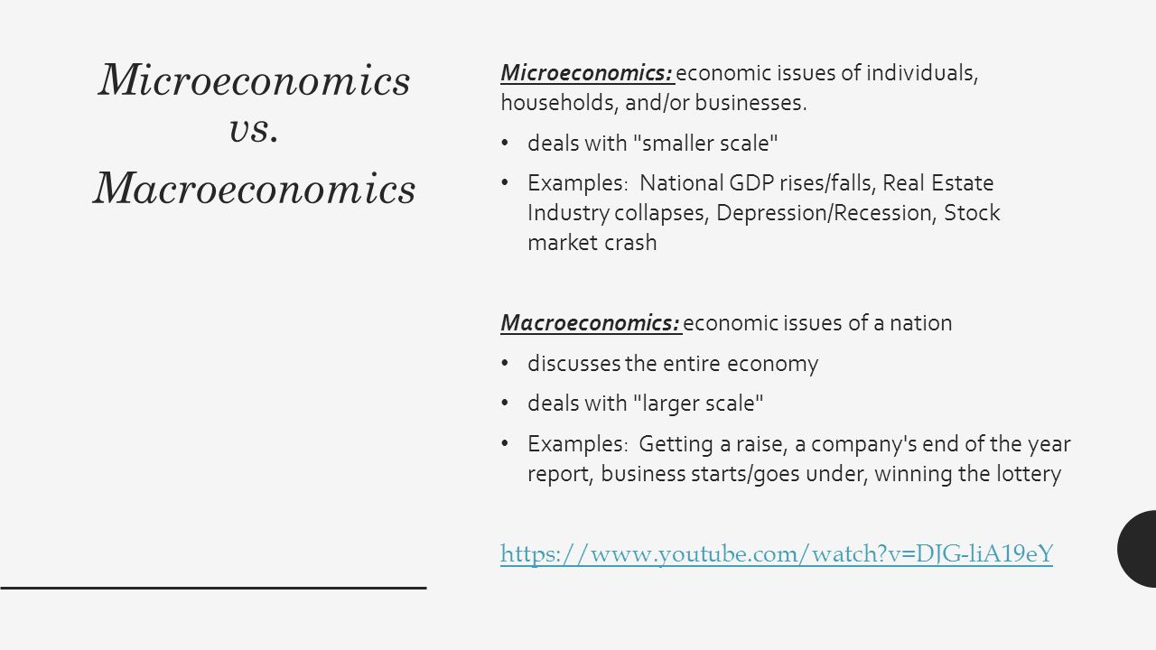 microeconomics vs macroeconomics Which area (subject) is easier (in general terms) microeconomics or macroeconomics.