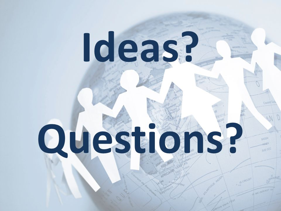 Ideas Questions
