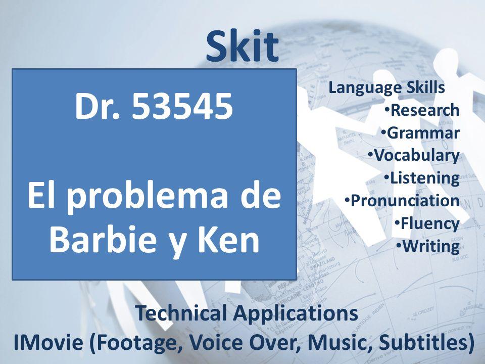 El problema de Barbie y Ken Technical Applications