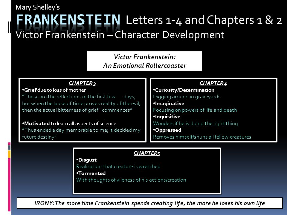 Science and Progress in Frankenstein and Hard Times