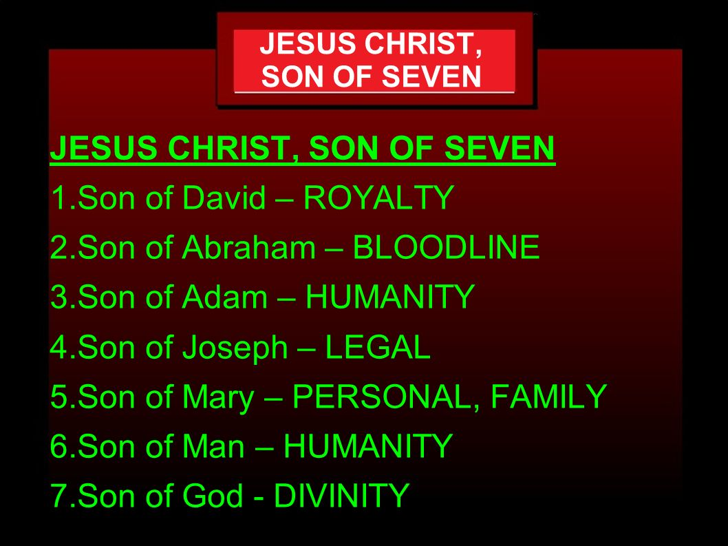 jesus the son of man pdf