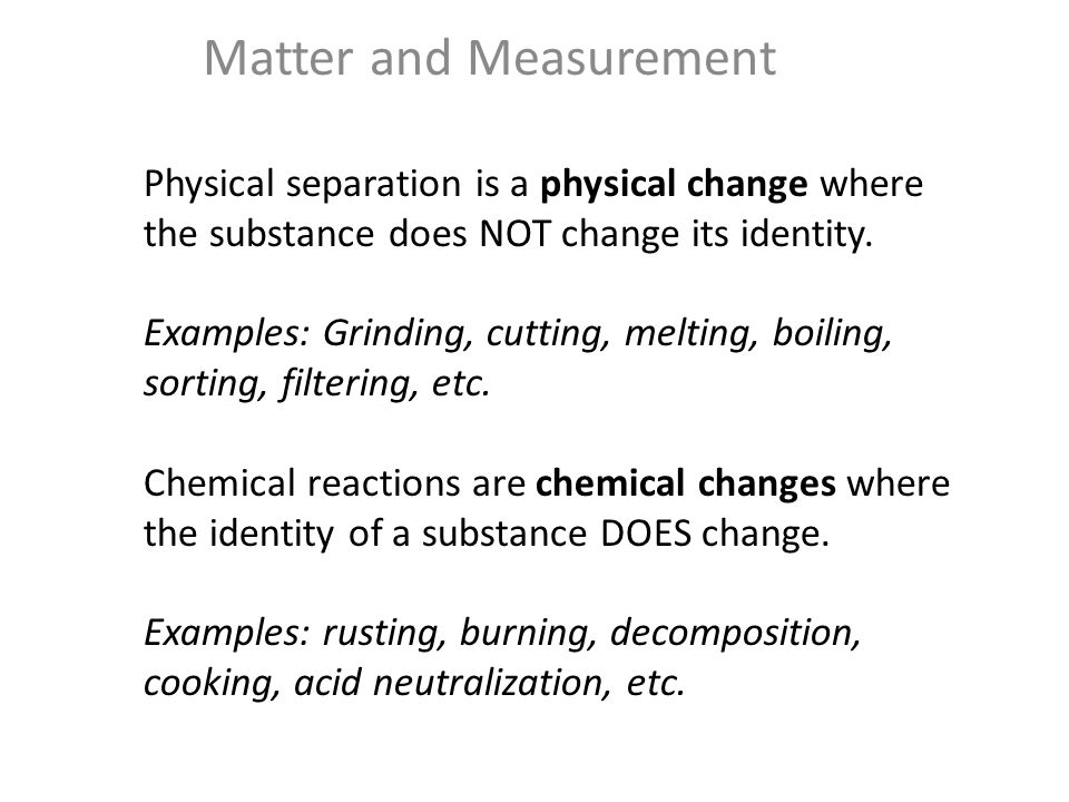 matter and measurement labpaq template In the following study guides we cover the metric system, measurement, precision and accuracy, significant figures, scientific notation, dimensional analysis, conversions, density, temperature, and energy to get started, click on a study guide below matter measurements in chemistry: metric system, si units.