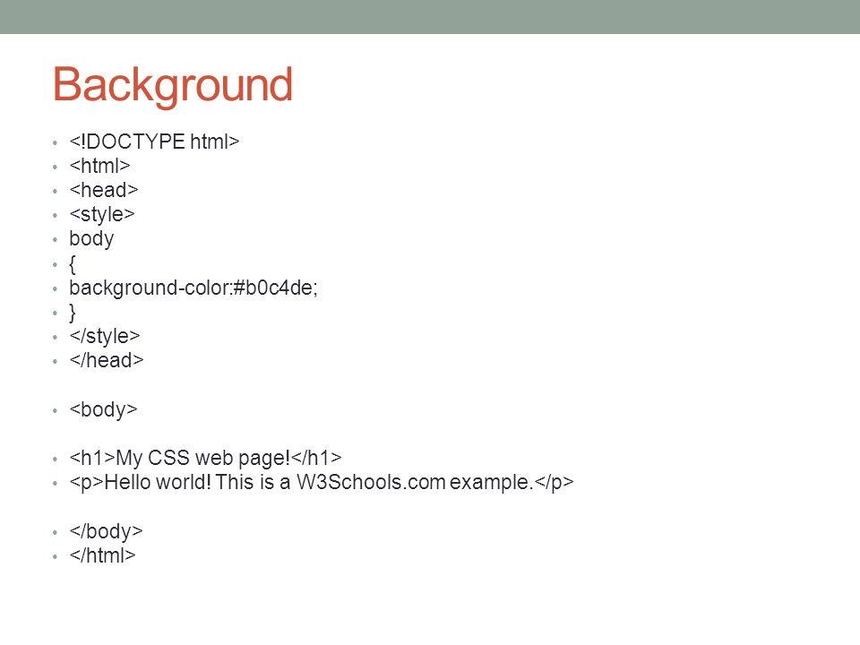 W3schools html div background color background ideas - Div background color ...