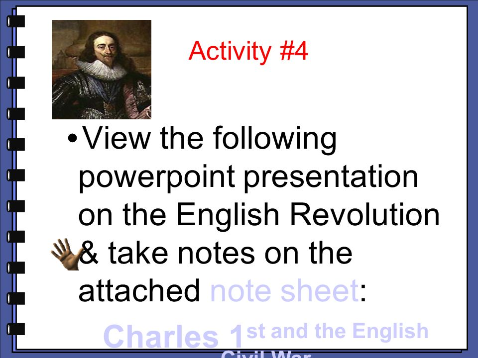 Homework help english civil war