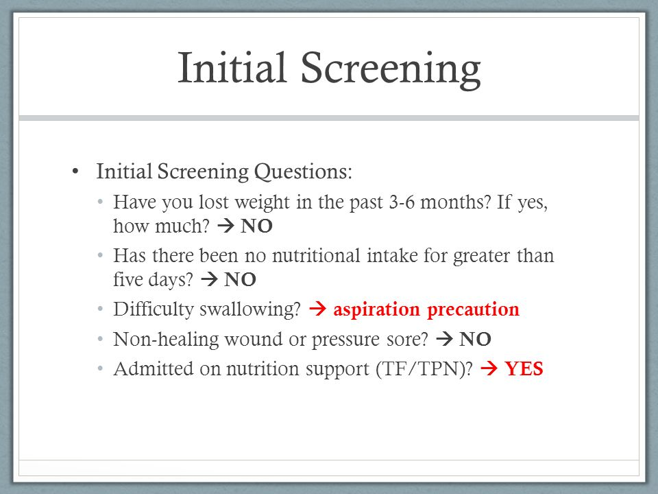 Clinical Nutrition Case Study SlidePlayer