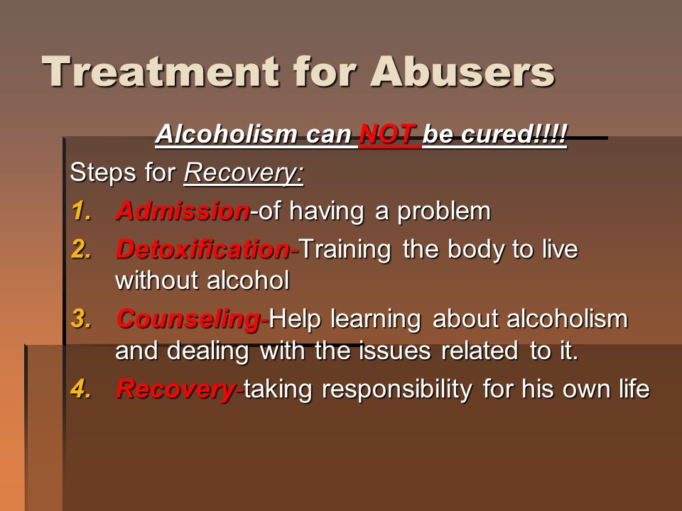 the issues of the alcoholism for an individual Top ten freshman year issues alcohol it is an emotional and behavioral condition that affects an individual's ability to co-dependency often affects.