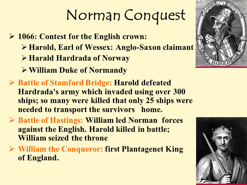 The Norman Conquest of England Essay Sample