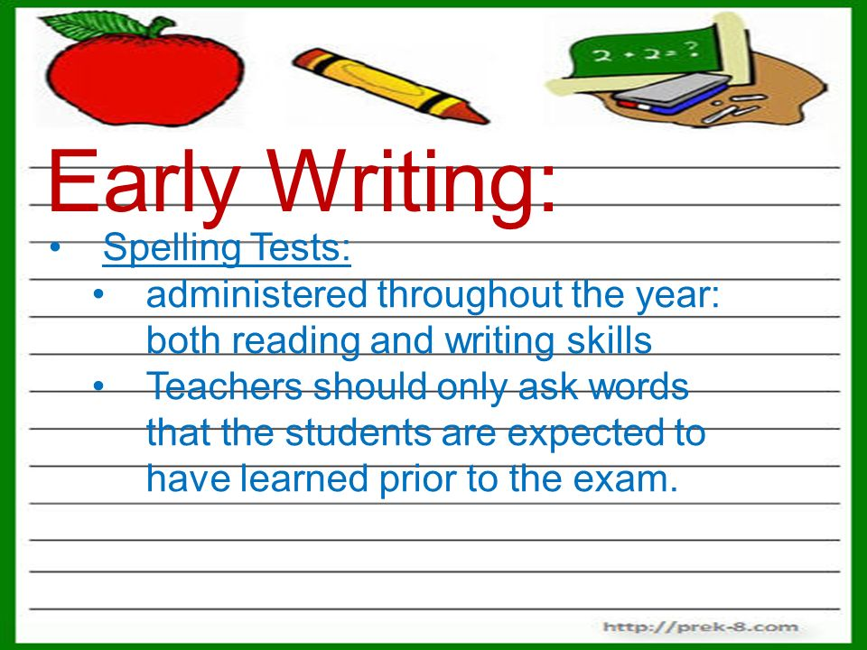 writing tests online Online item sampler - all grades/content areas (must be accessed with a chrome   or passages) and then respond in writing to a prompt in one of several ways.