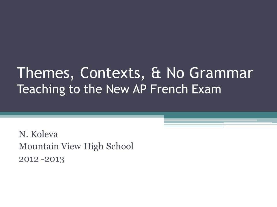 ap french essay scoring