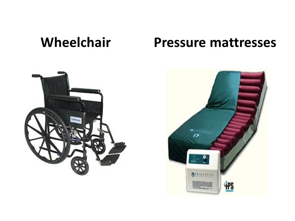 Wheelchair Pressure mattresses