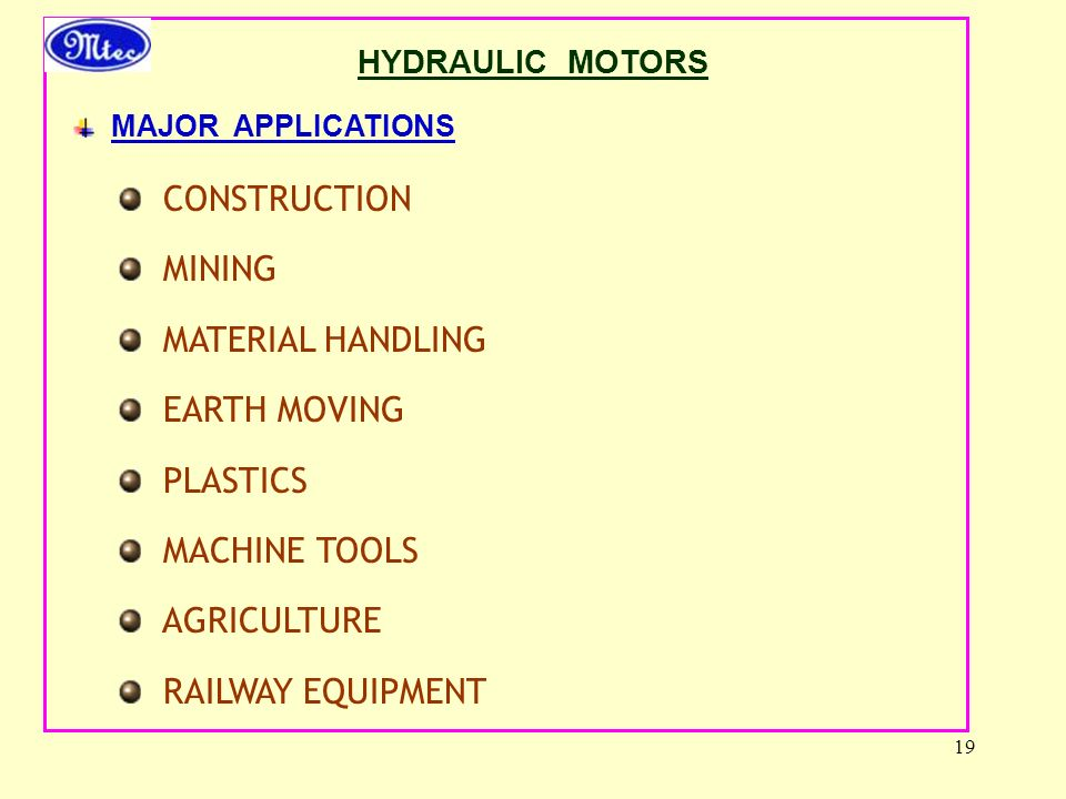 CONSTRUCTION MINING MATERIAL HANDLING EARTH MOVING PLASTICS