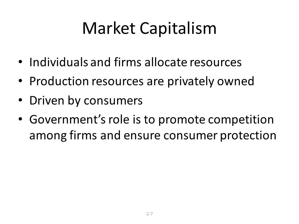 how economic systems allocate resources effectively Command economy is an economic system in which the government controls   to facilities, and allocates whatever resources are needed to meet the quotas   effectively limiting competition that could drive american businesses under.