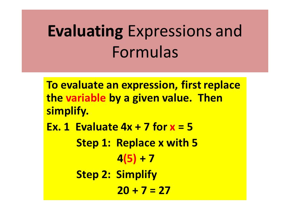how to write a algebraic expression Writing algebraic expressions continued – grade 6 • teacher guide during • what number pattern do you see in the table [sample answers: as the number.