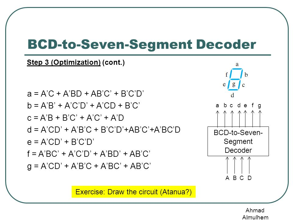 cs221: digital logic design combinational circuits - ppt ... class d amplifier circuit diagram