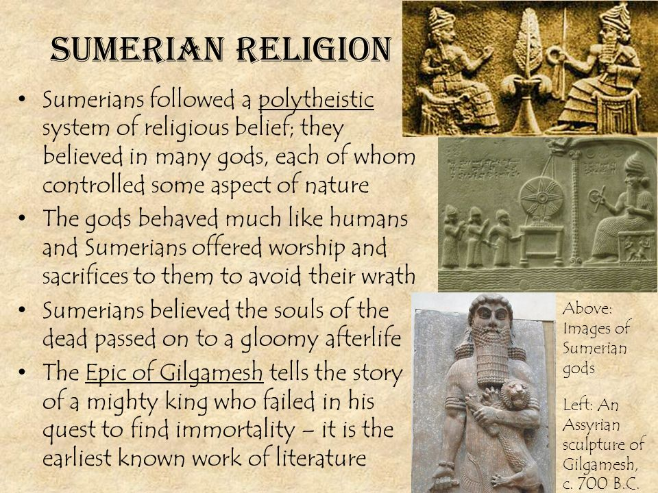 religious beliefs and the quest for immortality in the epic of gilgamesh They usually embody cultural and religious beliefs of the people another characteristic is an epic hero is on a quest gilgamesh also represents this because he is on a quest for immortality reply delete austin moore march 23.