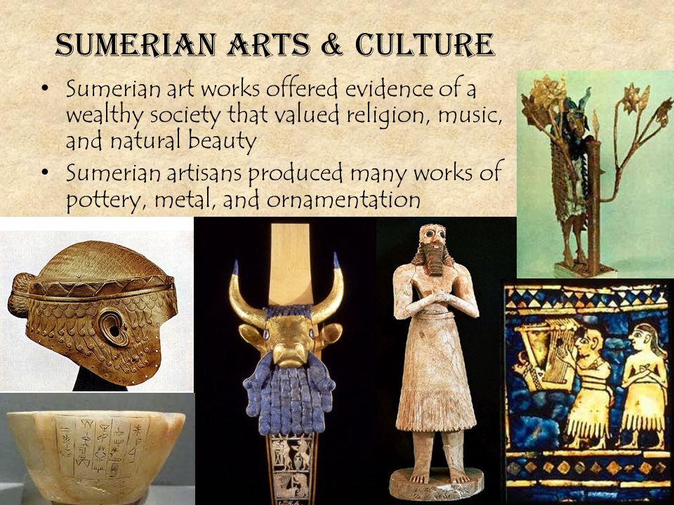 sumerian art Source url:   sumerian art the region of southern mesopotamia is known as sumer.