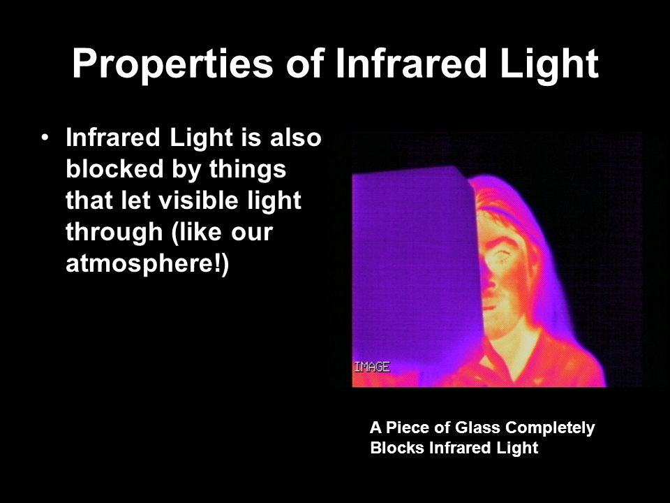 What Does the Infrared Have to Do With Space?