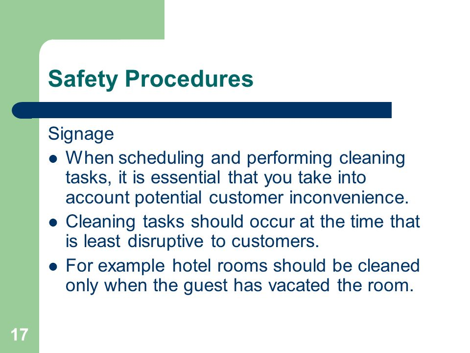 Spick And Span Sitxohso02a Follow Workplace Hygiene