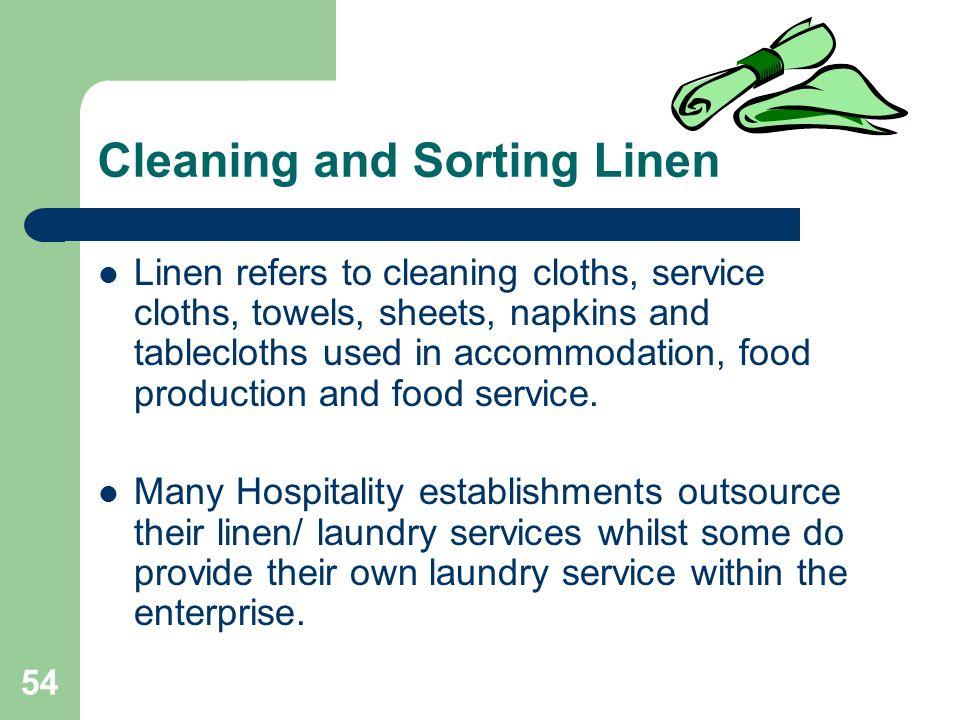 hospitality follow workplace hygiene procedures
