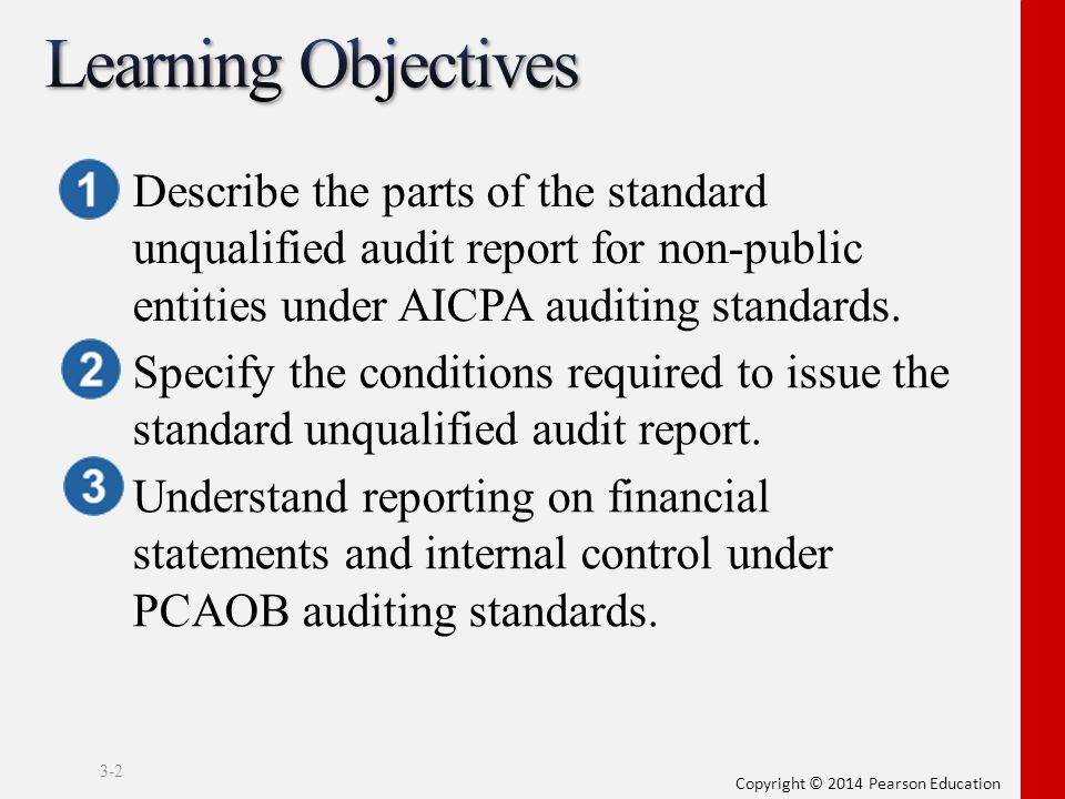 parts of audit report