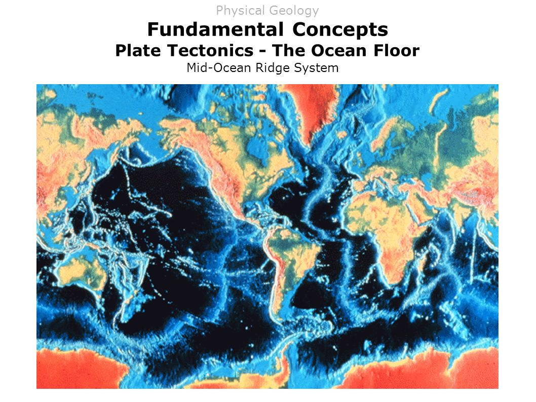 describe the geologic nature and significance of the mid oceanic ridge The mid-ocean ridge system is a narrow strip of volcanoes that circles the globe melted rock rising from the planet's mantle forms new crust along the ridge as it cools.