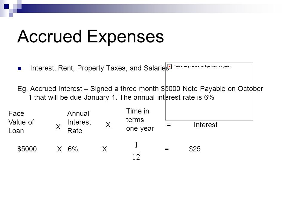 Coupon rate and accrued interest
