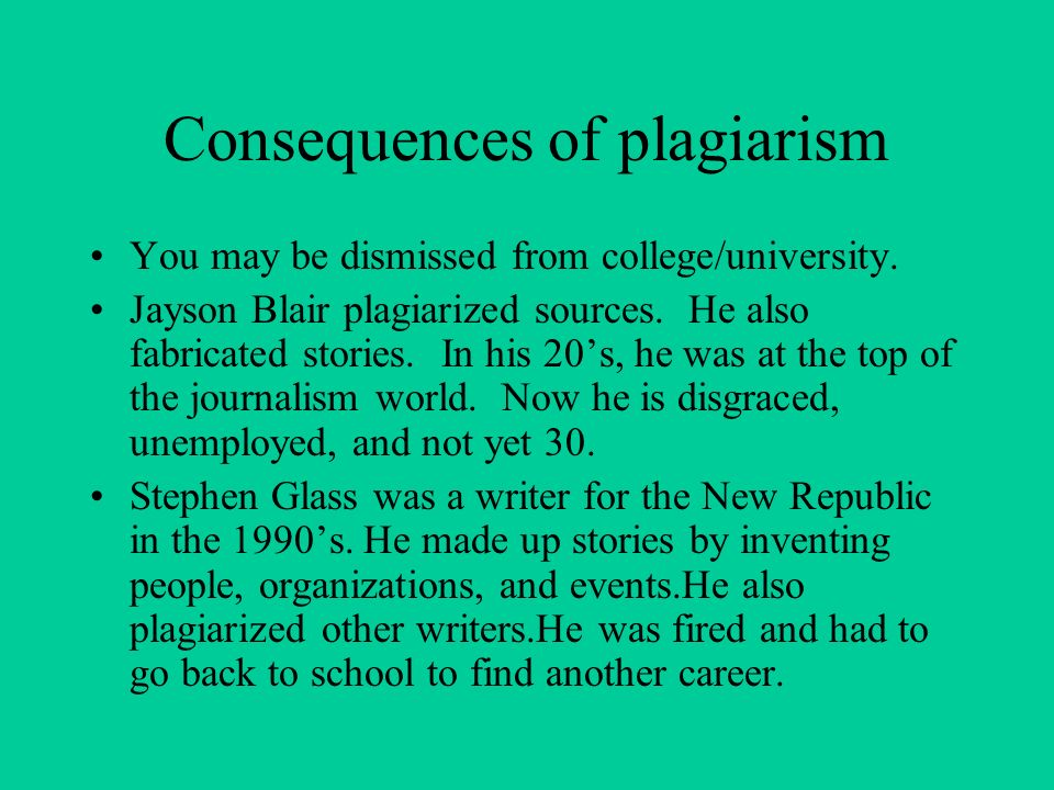 effects of plagiarism What are the advantages and disadvantages of plagiarism by university students  plagiarism is academic dishonesty  there is a mental effect to.