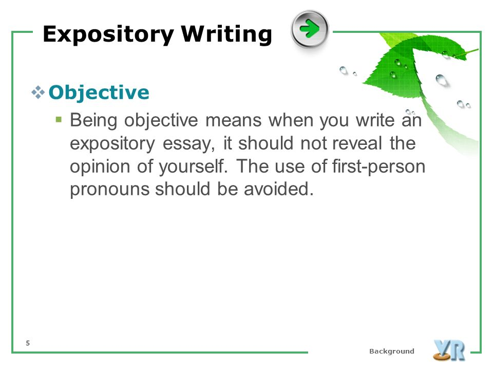 Write An Expository Essay