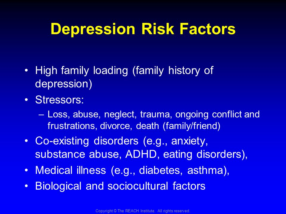 factors of depression The social support perspectives believes social factors and the person's experiences cause depression and social support restores the mentally distressed person to wellbeing and social functioning however it is also viewed as an addition to psychiatric treatment, where the service user is established on their medication, and social issues .