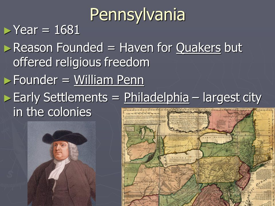 Key Dates in Colonial American Religious History