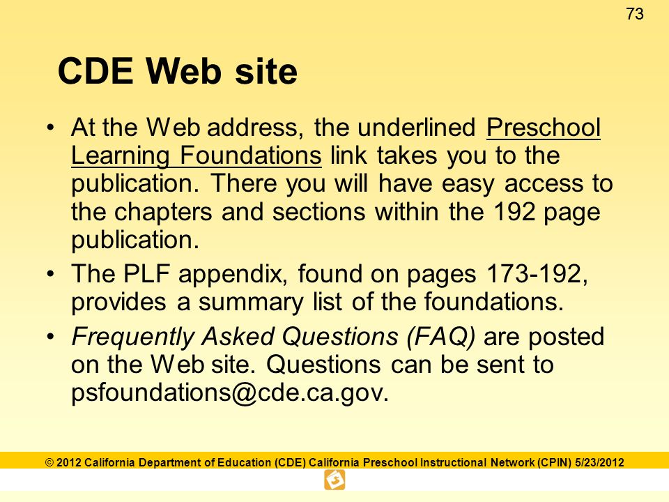 Language and literacy foundations framework ppt download cde web site fandeluxe Gallery