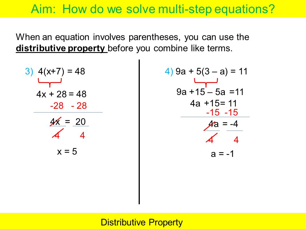 Do Now Write the question and answer ppt download – Solving Equations with Distributive Property Worksheet