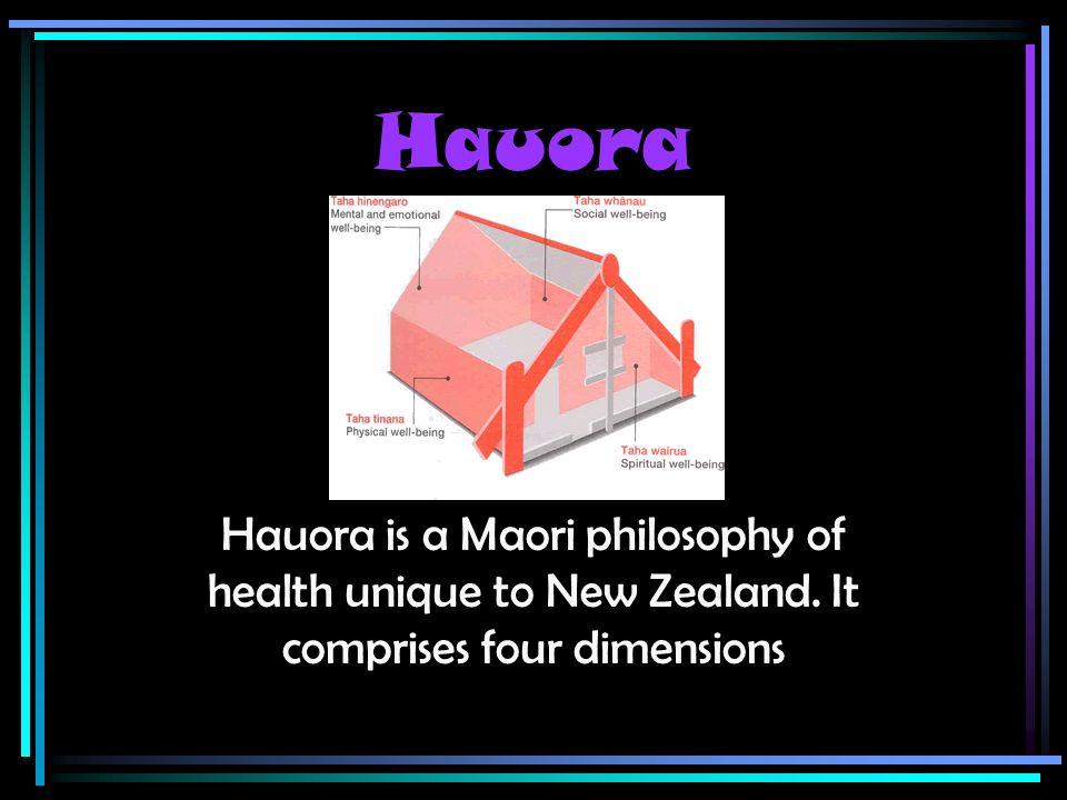 hauora maori philosophy of health and How to pronounce hauora hauora  maori] hauora is a māori philosophy of health unique to new zealand  1te whare tapa whā is a model for hauora (māori health.