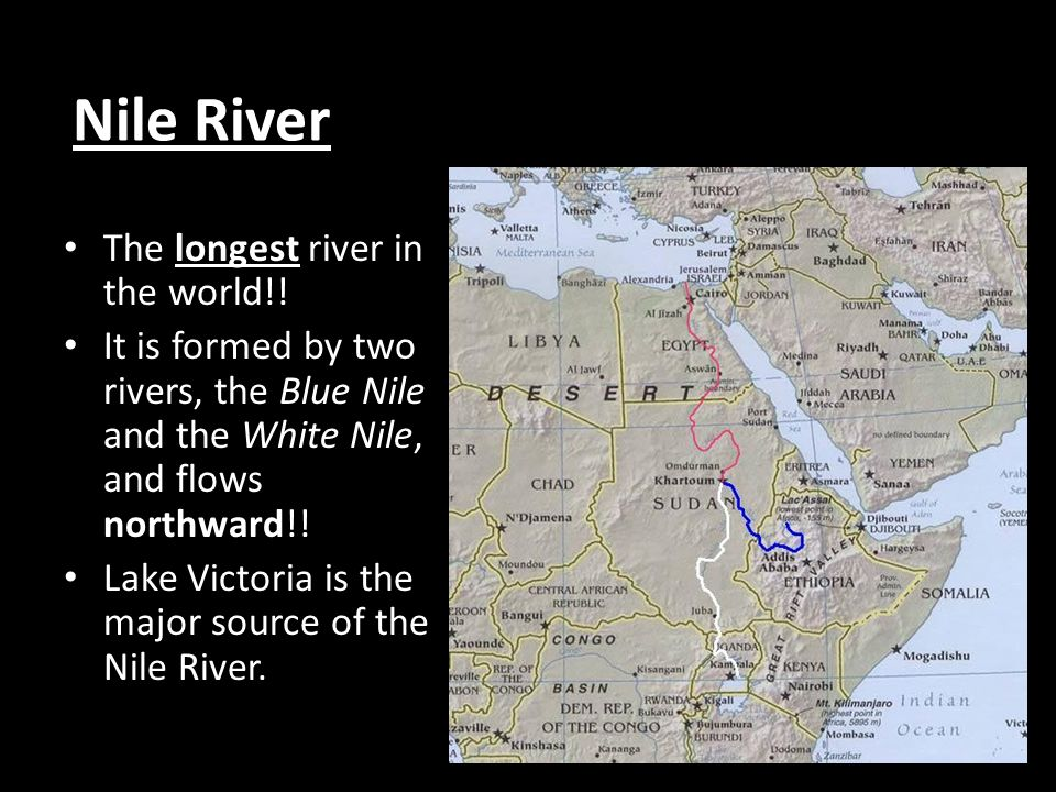 Opener COPY And Answer The Following Ppt Download - Two longest rivers in the world