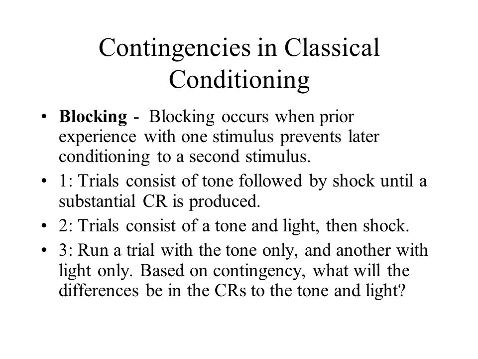 biological constraints in classical conditioning Classical conditioning describe why/how the seal's learning from page 292 was an example of   do cognitive processes and biological constraints affect classical conditioning cognitive processes explain the nausea/drug/alcohol example & how it shows that cognition (or expectations/thoughts) is important for conditioning.