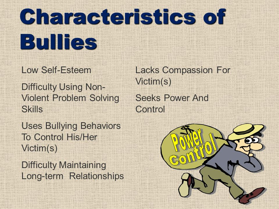 bullying and victims Parenting » emotional smarts » understanding bullying and its impact on kids with learning on victims some victims of bullying may turn to violent means of.