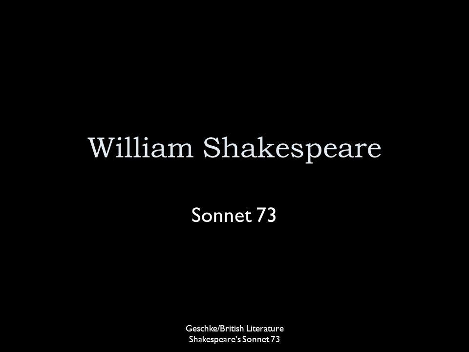 shakespeare sonnet 73 essay