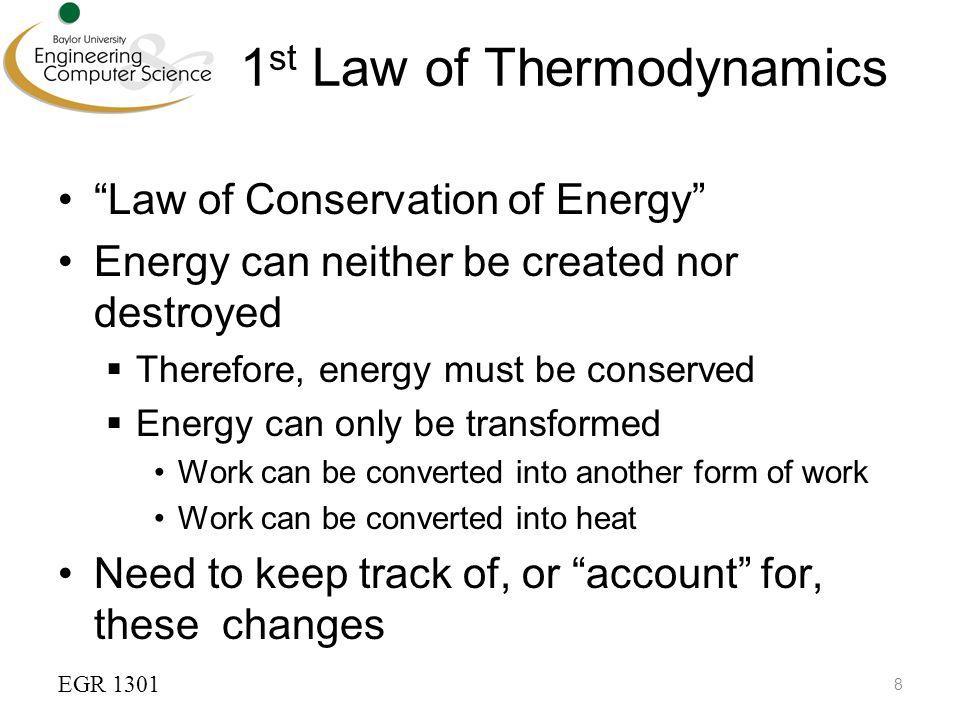 1st law of thermodynamics pdf
