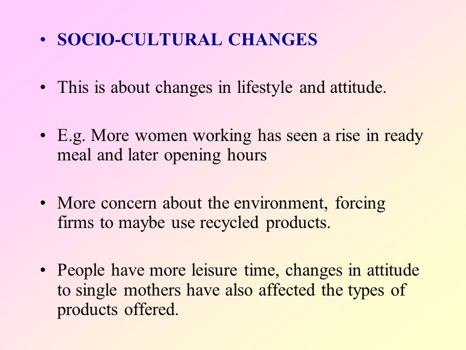 socio cultural environment of auto industry Effects of socio-cultural factors on consumer choice of  socio-cultural factors,  a feature of the banking industry across the globe is that it.