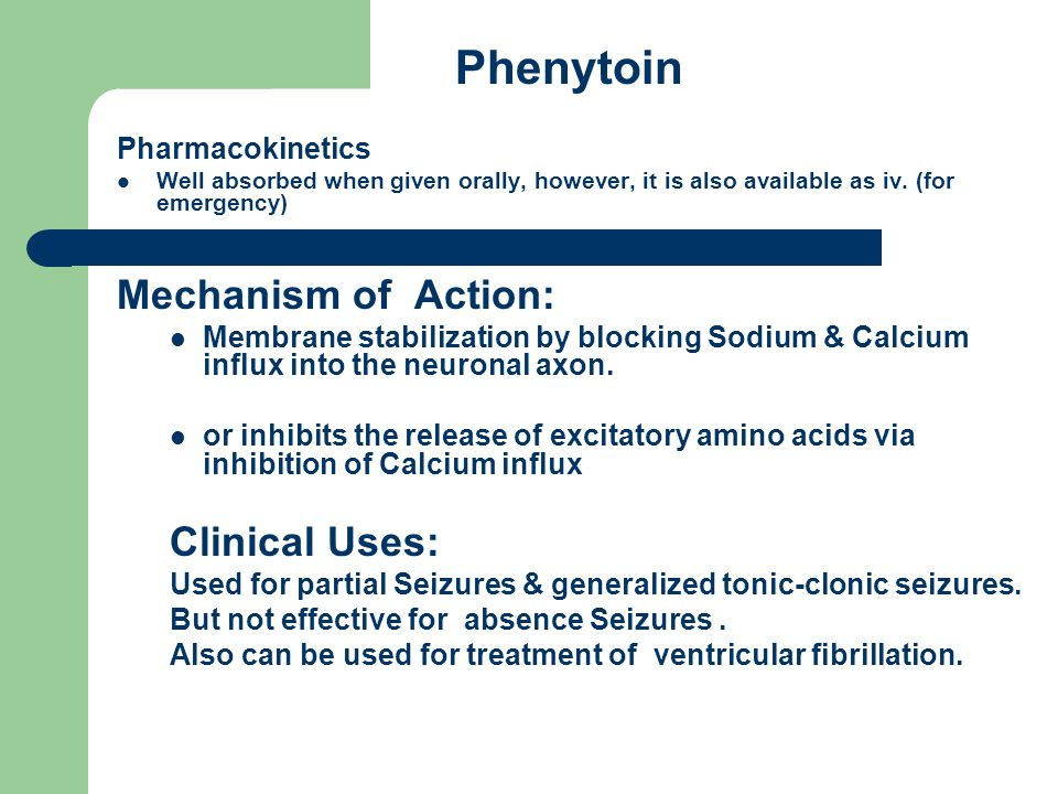 Phenytoin Side Effects Elderly