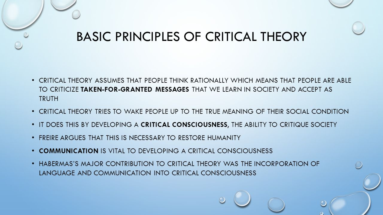 List of critical theorists