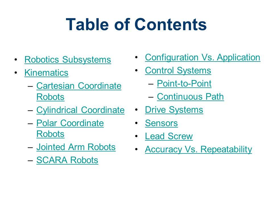 Robotics Systems Robotics Cim Introduction To Automation