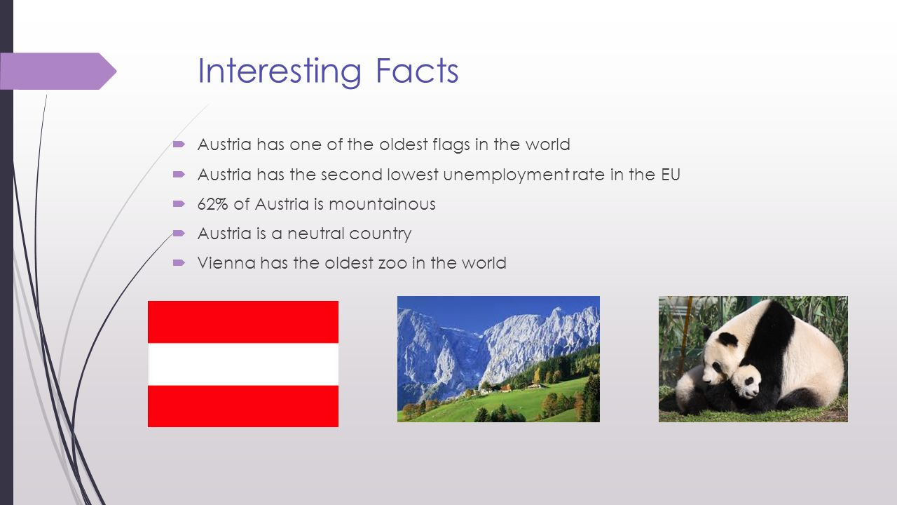 Interesting Facts Austria Has One Of The Oldest Flags In The World