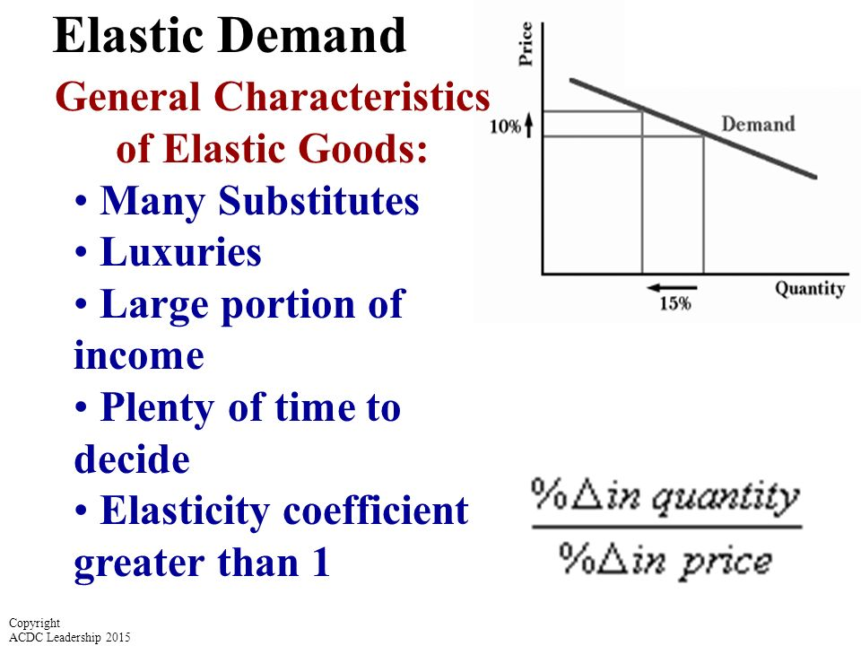 is elasticity coefficient elastic or inelastic Read this essay on price elasticity of demand (elastic and inelastic) come browse our large digital warehouse of free sample essays get the knowledge you need in order to pass your classes and more.