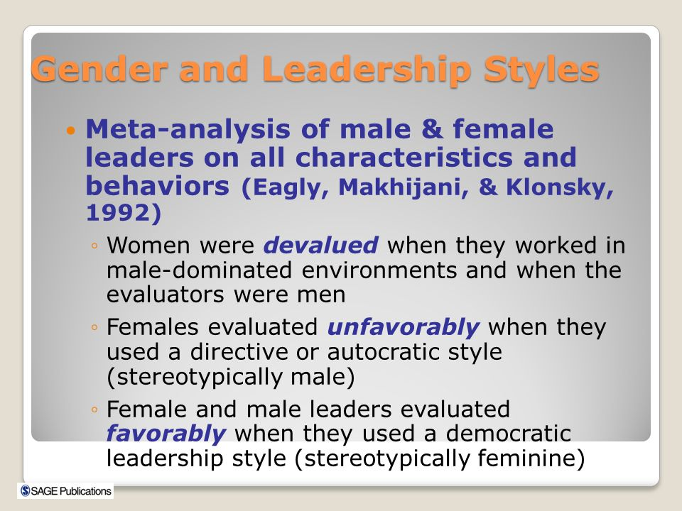 leadership styles and characteristics Types of leadership styles there are as many approaches to leadership as there are leaders, from lewin's leadership styles framework of the 1930s to the more.