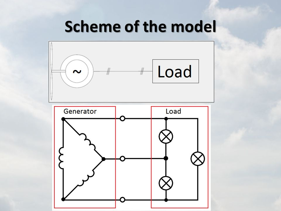 Scheme of the model